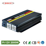 Paco off Grid 12V 2000W cd. AC Because Power Inverter