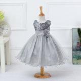 Desgaste formal bonito dos miúdos dos vestidos de partido do vestido de casamento da menina da criança