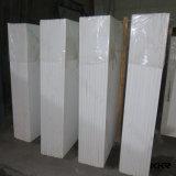 Lajes projetadas da pedra de quartzo do material de construção para bancadas