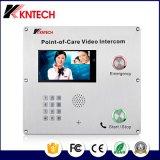 Punto de ayuda de interfono con vídeo VoIP Knzd-70ipil punto de atención hospitalaria
