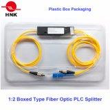 1: Tipo divisores ópticos de 2 cassettes del PLC de fibra