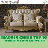 Mobilia francese del sofà del cuoio del salone di stile dell'oggetto d'antiquariato di lusso di opera