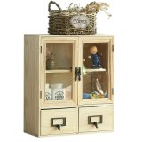 Мебель дома шкафа древесины сосенки коробки хранения мебели устроителя косметическая