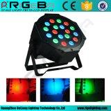 Mais barato 18*1W RGB LED interior PAR Luz CAN