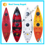 Plástico Ry Canoa sola Ocean Kayak de pesca con asiento y la paleta (M02)