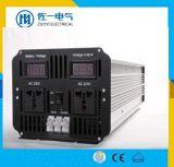 C.C professionnel de constructeur à l'inverseur pur 12V de pouvoir d'onde sinusoïdale à C.A. 4000W à la tension 110V/220V réglable