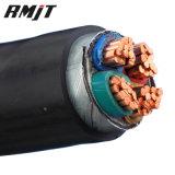 Tensión subterráneo forrada PVC del cable de transmisión del precio baja