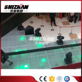 Etapa de acrílico portable de aluminio al aire libre del acrílico del suelo