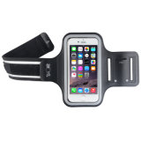 Il sacchetto di Sportband del cellulare di forma fisica di ginnastica di esercitazione di Sweatproof mette in mostra il funzionamento del bracciale