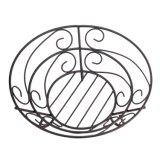 Корзина шара плодоовощ провода металла круглая форменный