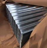 Le premier rouleau en acier galvanisé Feuille de tuile de métal ondulé