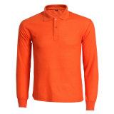 Singe de manga larga camisetas de algodón Golf Tenis Blusa Polo para hombres