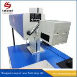30W 50W Gravure de marquage au laser CO2 de l'impression pour le cuir et en plastique de la machine