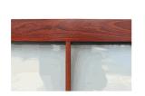 إعصار مقاومة ثبت [لمينت غلسّ] مكتب نافذة تصميم