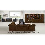 Scrittorio esecutivo della mobilia della Tabella di lusso dell'ufficio con la Tabella laterale Yf-2088