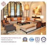 La mobilia generosa dell'hotel per il salotto dell'ingresso con il sofà ha impostato (YB-B-2)