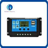 Регулятор предохранения от PWM 20A 30A 12V 24V LCD батареи солнечный