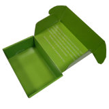 La función de impresión reciclable y barnizar el manejo de caja de mailing corrugado impresos personalizados