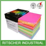 papel Offset colorido 8.5X11 da cópia do tamanho da letra de 70GSM 75GSM