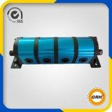 Diviseur de débit rotatoire de moteur de vitesse d'énergie hydraulique de 2 sections