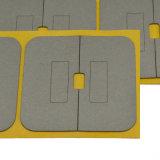 Feuille Anti-Électromagnétique faite sur commande d'amortisseur de vente chaude