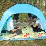 卸し売り単層の4人のキャンプテント