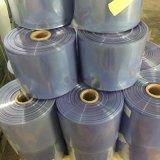 Film de rétrécissement bleu de PVC d'espace libre chaud de vente