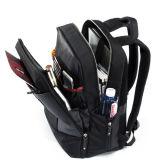 Backpack компьтер-книжки чернокожего человек 15.6 дюймов Nylon водоустойчивый