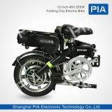 12インチ48V 250W折る都市電気バイク(ADUD-40YE)