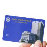 Cartão sem contato plástico de MIFARE 1K RFID para o controle de acesso