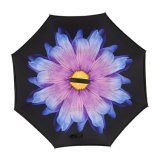 Venda por grosso de chuva promocional guarda-chuva invertida com impressão