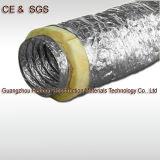Изолированный алюминиевый Гибкий воздуховод