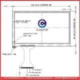 Порт USB 7-дюймовый сенсорный экран для запроса объекта, совместимые с Windows и Linux КТ-C8085