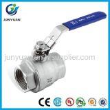 200opsi verringertes PortEdelstahl-Kugelventil/Conrtol Ventil mit ISO