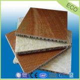 Painel de madeira favo de alumínio leve com painéis de fibra de madeira Fire-Proof para mobiliário
