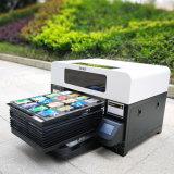 Impresora ULTRAVIOLETA multicolora automática A3 para el shell del teléfono móvil de la tarjeta de la pluma