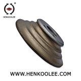 Vínculo de metal em aço inoxidável abrasivos de Diamante Whee de moagem de grandes dimensões
