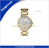 Reloj determinado del diamante lleno de lujo de la joyería de Dulhan