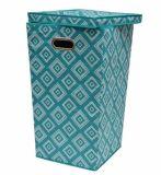 접을 수 있는 폴딩 뚜껑 도매를 가진 빨 수 있는 입방형 세탁물 버들고리 바구니