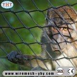 Acoplamiento flexible del parque zoológico del alambre de cuerda de acero inoxidable