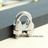 Clip de fil d'acier inoxydable pour la connexion