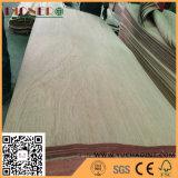 Furnier-Blatt der Fuss-4X7 natürliches Gurjan/Keruing