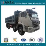 L'Éthiopie chariot Sinotruk Hohan 30 Tonnes 371 8X4 Heavy Duty/camion à benne basculante de benne basculante