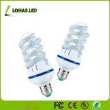 85-240V 3000K-6000K 16W E26 나선형 모양 LED 전구