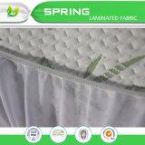 Comercio al por mayor equipado cama estilo protector de colchón impermeable a prueba de errores