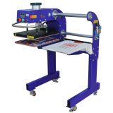 A doble cara Camiseta el logotipo de la pegatina de prensa de calor de las máquinas de impresión