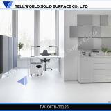 Bureau blanc de gestionnaire de bureau de modèle neuf à vendre