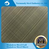 Hoja del color del acero inoxidable de la alta calidad 410 para los materiales de la decoración