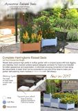 De stapelbare Pot van de Bloem met assembleert Bed van de Tuin van de Planter het Modulaire Opgeheven