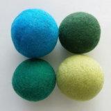 Hochwertige Wäscherei-Trockner-Kugel-reine Wollen säubern Kugel-Neuseeland-Kugel